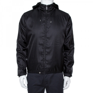 Gucci Black GG Monogram Jacket S