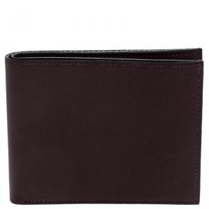 Hermes Macassar Swift Leather Citizen Twill compact Wallet