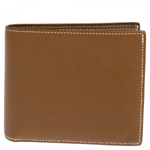 Hermes Kraft Evercolor Leather MC² Copernic Wallet