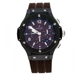 Hublot Brown Big Bang Frappuccino Limited Edition Men's Wristwatch 44mm
