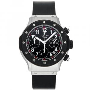 Hublot Black Stainless Steel Super B Classic Chronograph 1926.NL30.10 Men's Wristwatch 42 MM