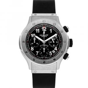 Hublot Black Stainless Steel Classic Fusion Super B Chronograph 1926.NL30.10 Men's Wristwatch 42 MM