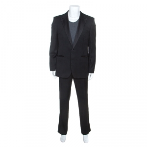 Hugo Boss Black Wool Cary Grant Super 110 Tuxedo XL