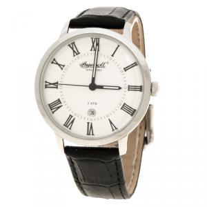 Ingersoll White Stainless Steel Grafton II Men's Wristwatch 40MM