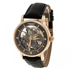 Ingersoll Black Rose Gold-Plated Steel Nez Perce Limited Edition Men's Wristwatch 40MM