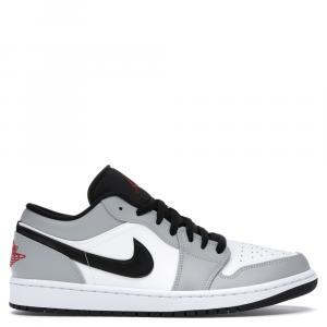 Nike Jordan 1 Low Light Smoke Grey Sneakers Size EU 41 (US 8)