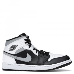 Nike Jordan 1 Mid White Shadow Sneakers (US Size 4/ EU Size 36)