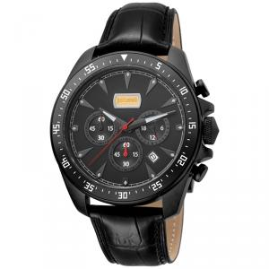 Just Cavalli Black Ion Plated Stainless Steel Sport JC1G013L0035 Men's Wristwatch 44MM