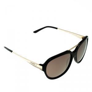 نظارة أفياتورز كورلوف سوداء/ذهبية
