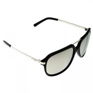 نظارة شمسية أفياتورز كورلوف KOR2035 سوداء/فضية عاكسة