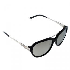 نظارة شمسية كرولوف أفياتور KOR2034 فضية وسوداء عاكسة
