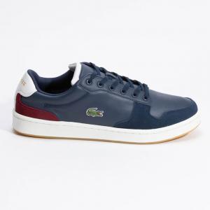 حذاء رياضي لاكوست ماسترز كب ثلاثي اللون أزرق مقاس 42.5 (متاح لعملاء الأمارات العربية المتحدة فقط)