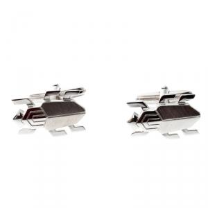 Lanvin Beetle Silver Tone Cufflinks