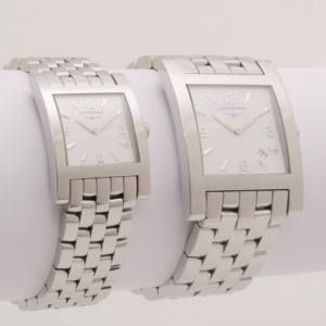 Longines Dolce Vita Quartz His and Her Watches SS/Silver