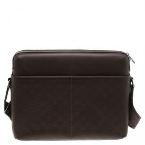 Louis Vuitton Brown Damier Infini Calypso Messenger MM Bag