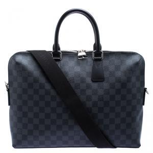 Louis Vuitton Damier Graphite Canvas Porte Documents Jour Messenger Bag