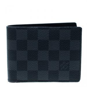 Louis Vuitton Damier Graphite Canvas Multiple Bifold Wallet