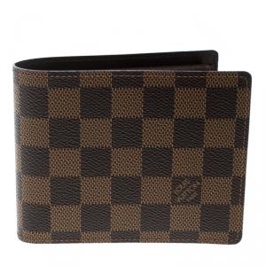 Louis Vuitton Damier Ebene Florin Wallet