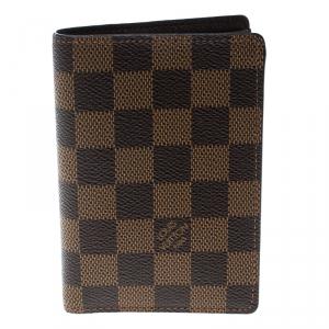 Louis Vuitton Damier Ebene Canvas Billfold Wallet