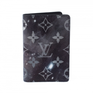 Louis Vuitton Grey Galaxy Monogram Canvas Multiple Bifold Wallet