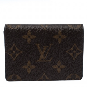 Louis Vuitton Monogram Canvas Enveloppe Carte De Visite