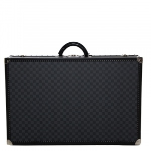 Louis Vuitton Damier Graphite Canvas Alzer Trunk Suitcase 75