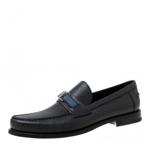 Louis Vuitton Dark Grey Loafers Size 44