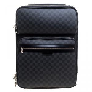 Louis Vuitton Damier Graphite Canvas Pegase Legere Business Suitcase 55