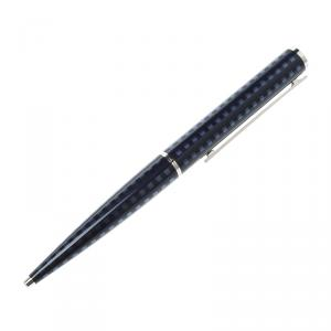 Louis Vuitton Jet Blue Lacquer Silver Tone Ballpoint Pen