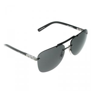 Louis Vuitton Black Z0585U Aviator Sunglasses