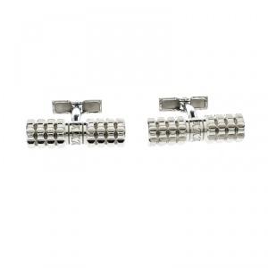 Louis Vuitton Digit Silver Tone Cufflinks