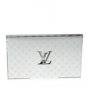 Louis Vuitton Champs-Elysées Laser Engraved Monogram Flower Card Holder