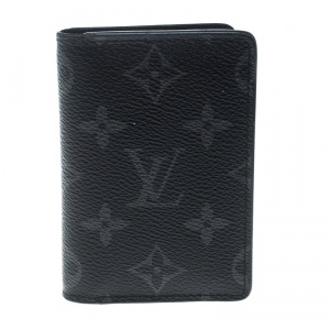 Louis Vuitton Monogram Eclipse Canvas Pocket Organizer