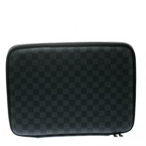 Louis Vuitton Damier Graphite Canvas Laptop Sleeve