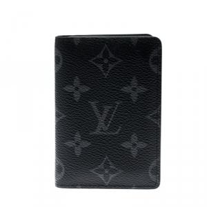 Louis Vuitton Monogram Eclipse Canvas Pocket Organizer