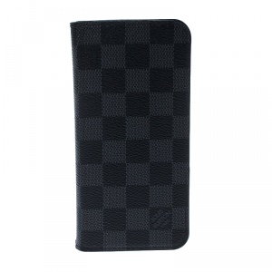 Louis Vuitton Damier Graphite Canvas iPhone 7&8 Folio Case