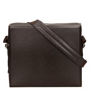 Louis Vuitton Monogram Glace Leather Steve Messenger Bag