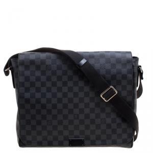 Louis Vuitton Damier Graphite Canvas District GM Bag