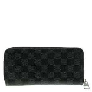 Louis Vuitton Damier Graphite Canvas Zippy Organizer Wallet