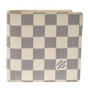 Louis Vuitton Damier Azur Canvas Marco Wallet