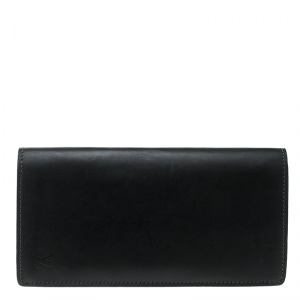 Louis Vuitton Black Leather Brazza Wallet