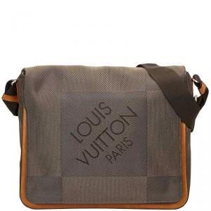 Louis Vuitton Terre Damier Geant Canvas Messenger Bag