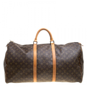 Louis Vuitton Monogram Canvas Keepall 60