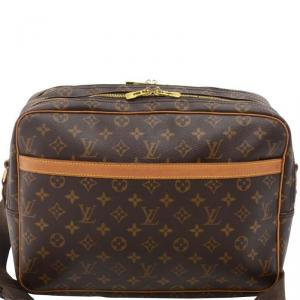Louis Vuitton Monogram Canvas Reporter GM Bag