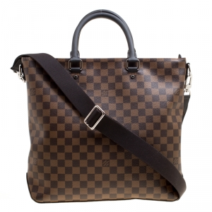 Louis Vuitton Damier Ebene Canvas Jake Bag