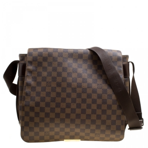Louis Vuitton Damier Ebene Canvas Bastille Bag