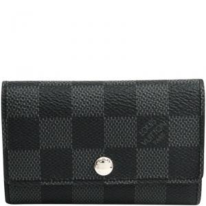 Louis Vuitton Damier Graphite Canvas 6 Key Holder