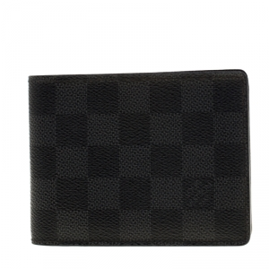 Louis Vuitton Damier Graphite Canvas Bifold Wallet