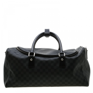 Louis Vuitton Damier Graphite Canvas Roadster Duffel Bag