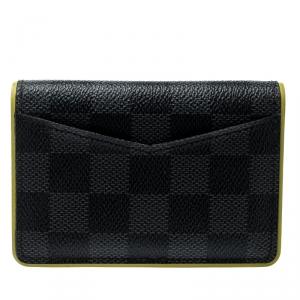 Louis Vuitton Yellow Damier Graphite Canvas Pocket Organizer